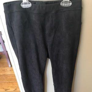 Sanctuary brushed black leggings